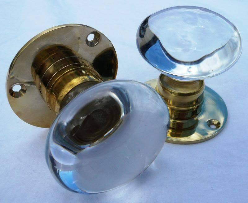 clear door knobs photo - 4