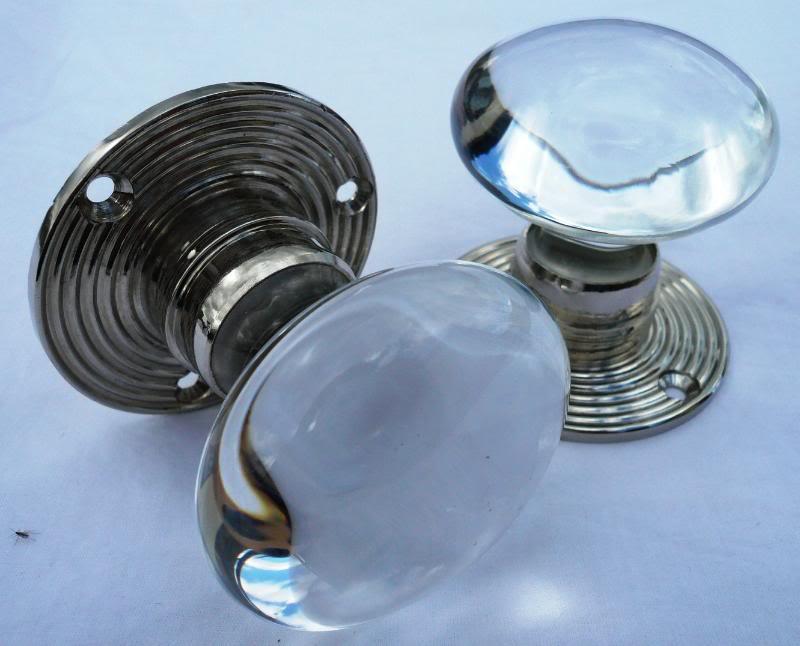 clear glass door knobs photo - 18