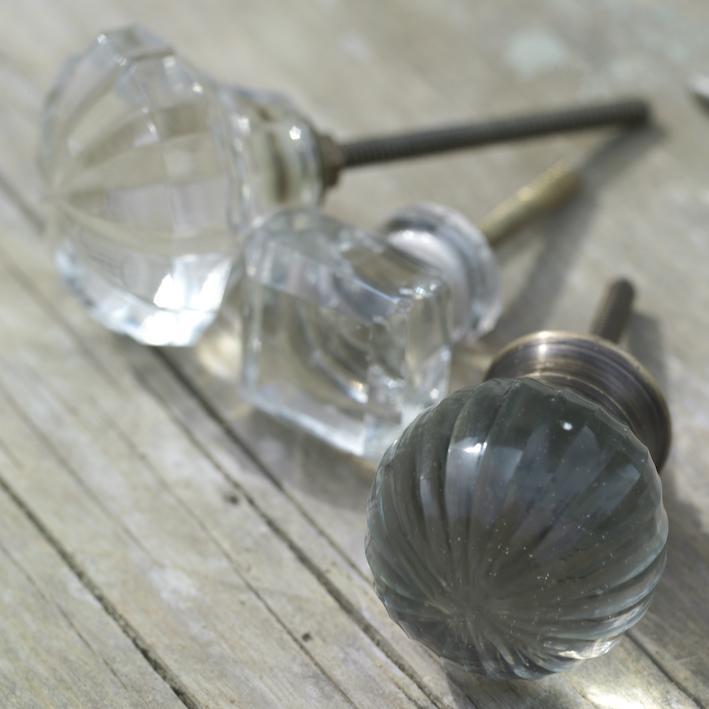 clear glass door knobs photo - 20