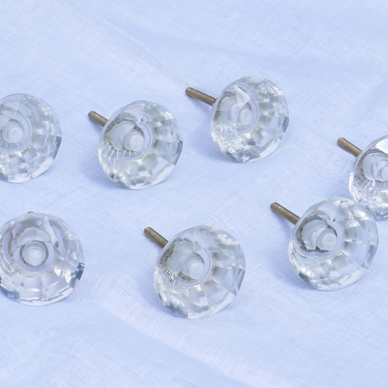 clear glass door knobs photo - 4