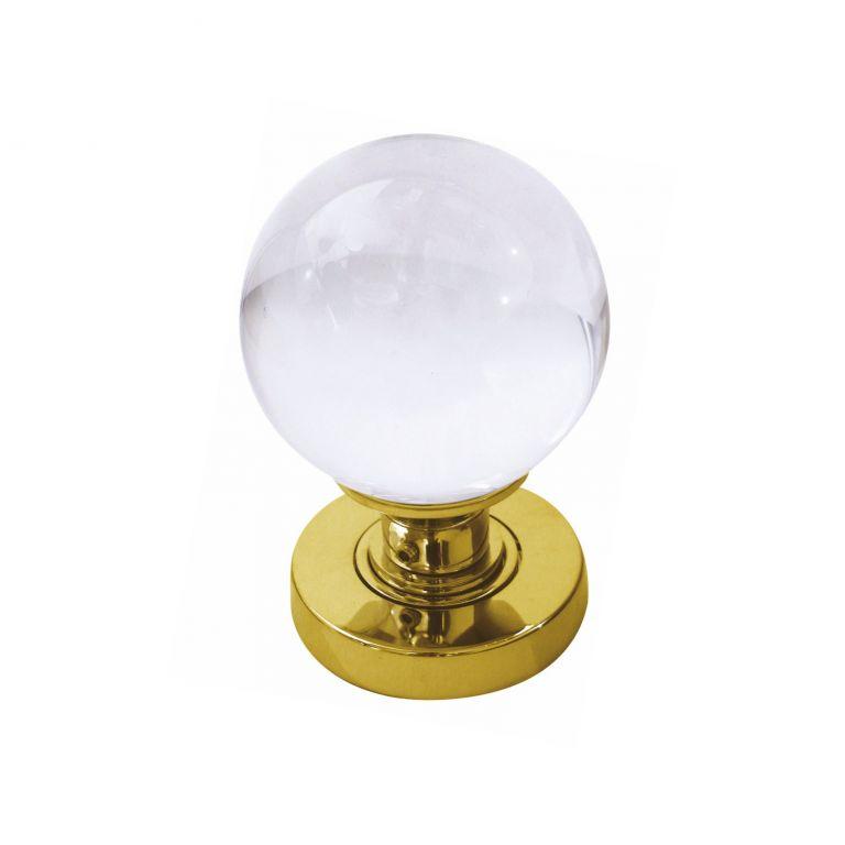 clear glass door knobs photo - 8