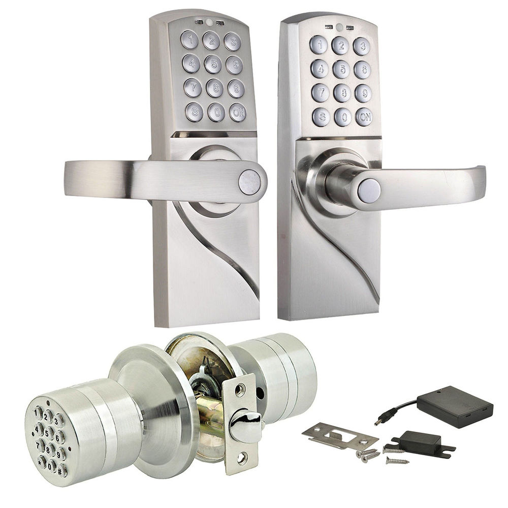 code lock door knobs photo - 14