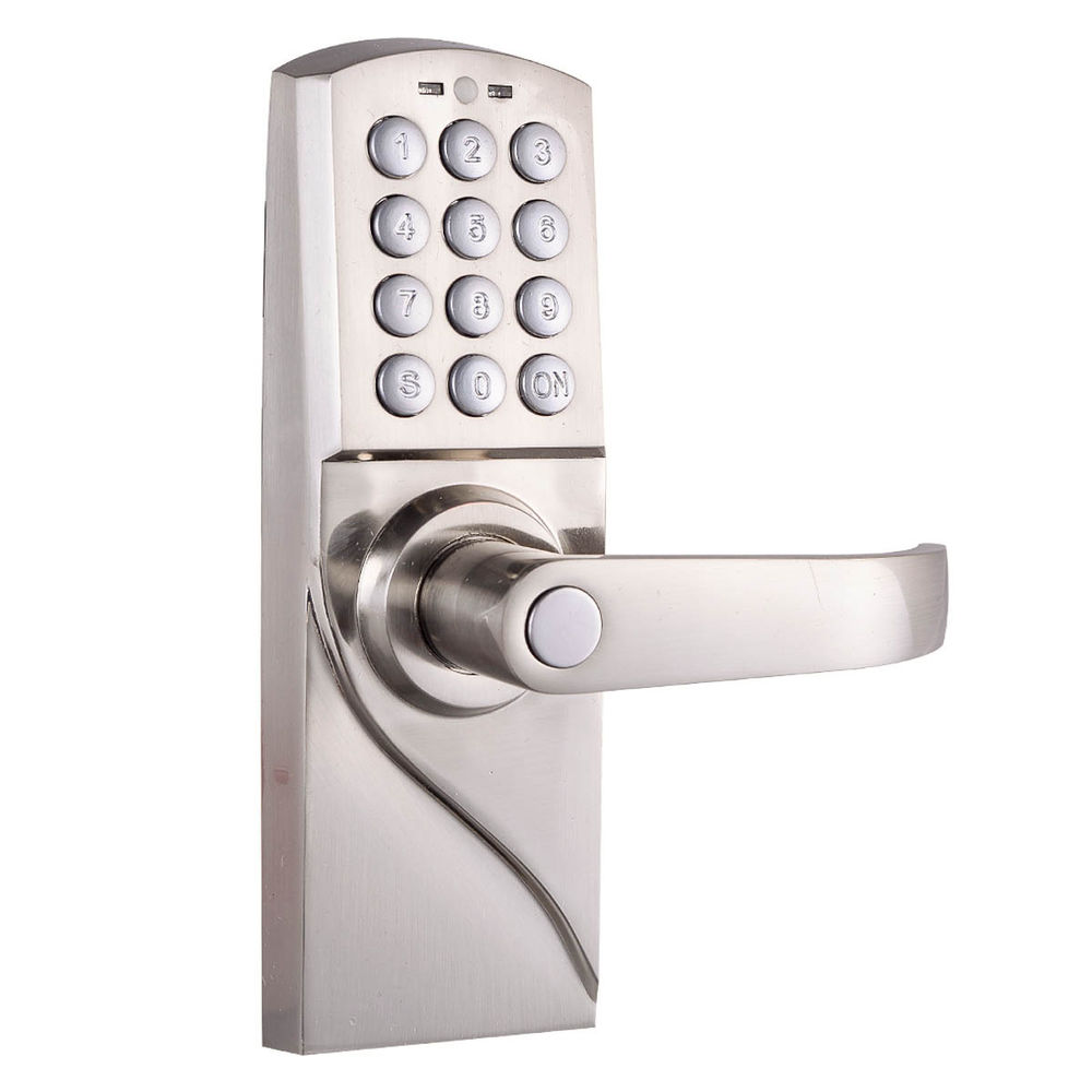 code lock door knobs photo - 3