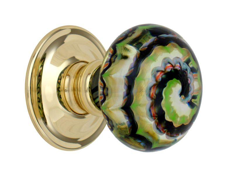 colored door knobs photo - 12