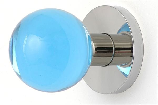 coloured glass door knobs photo - 14