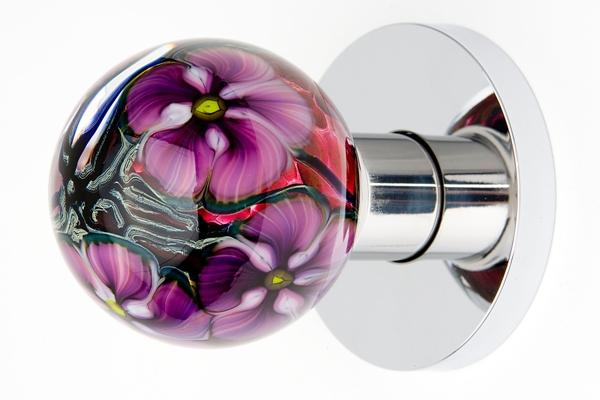 coloured glass door knobs photo - 18