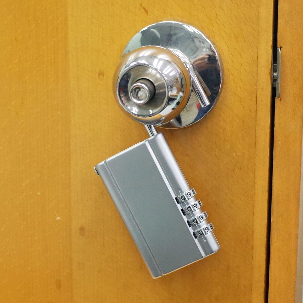 combination door knob photo - 8