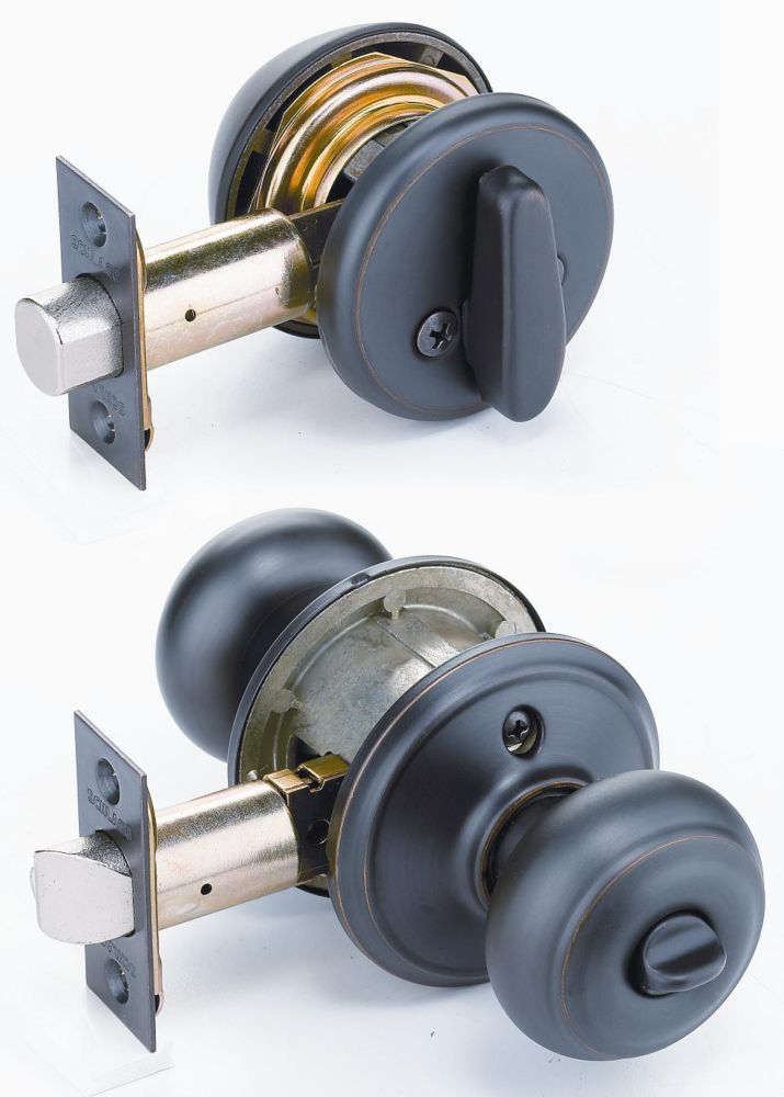 combination door knobs photo - 16