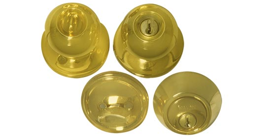 combination door knobs photo - 19