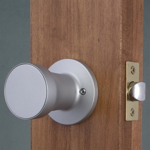 combination lock door knob photo - 2