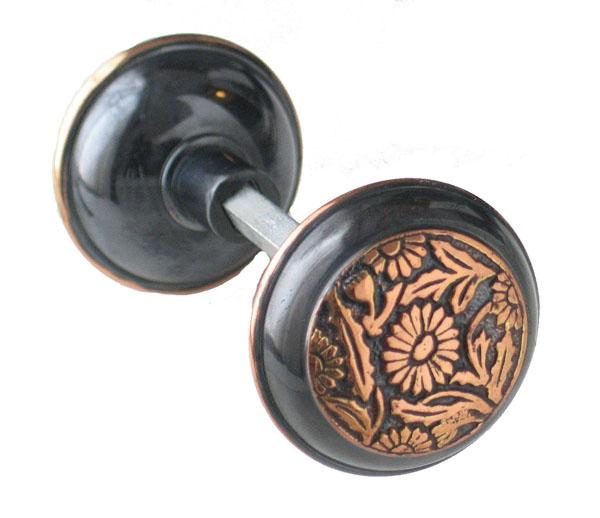 copper door knob photo - 8