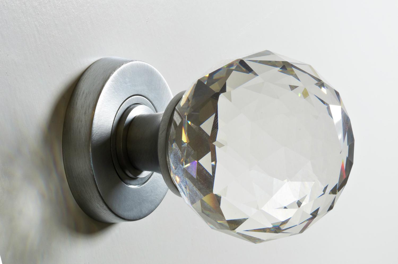 crystal door knobs cheap photo - 3