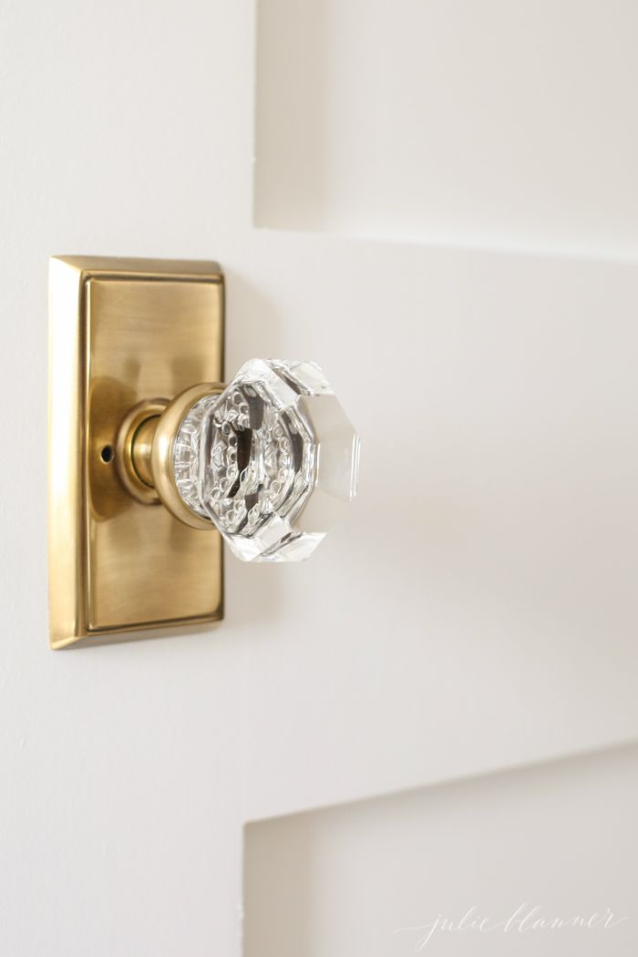 crystal door knobs with lock photo - 9