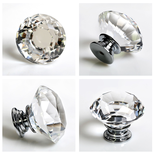 crystal door knobs with locks photo - 10