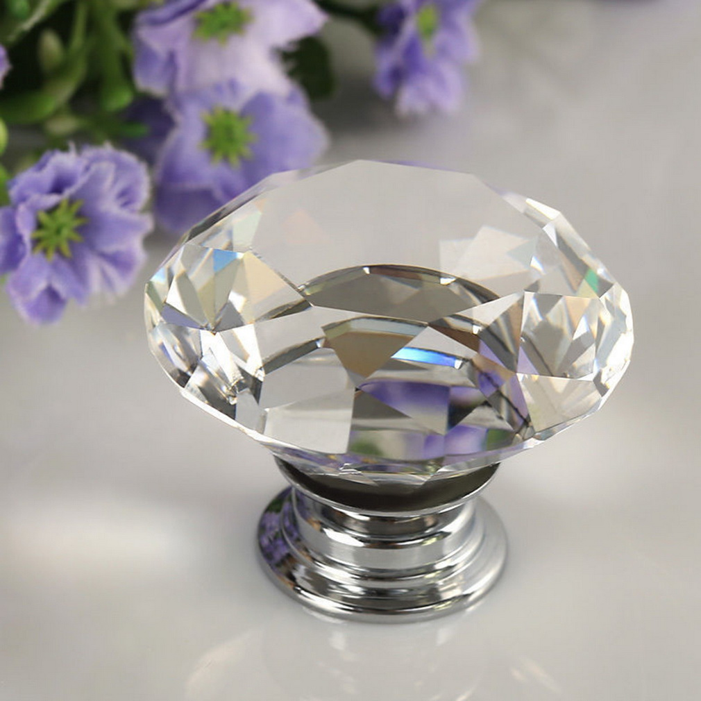 crystal door knobs with locks photo - 16