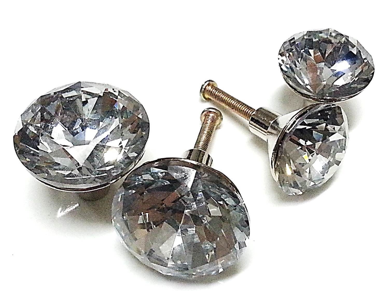 crystal glass door knobs photo - 10