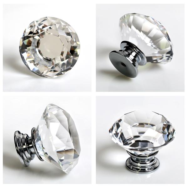 crystal glass door knobs photo - 20