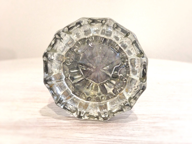 crystal glass door knobs photo - 4
