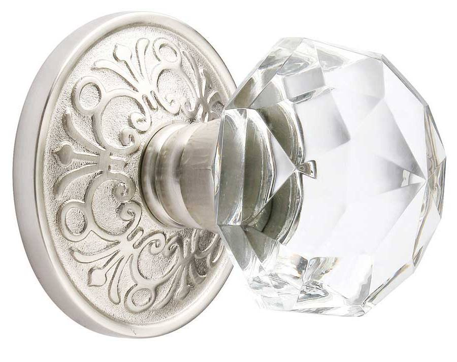 crystal interior door knobs photo - 10