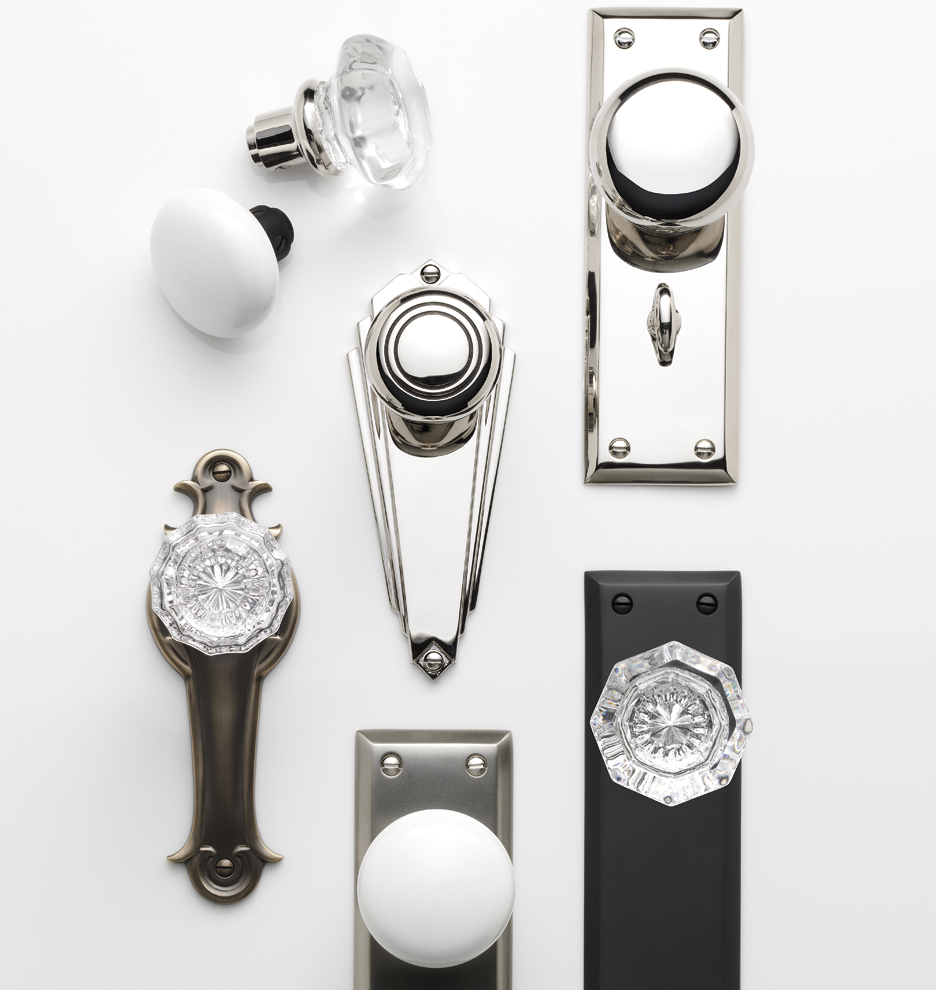 crystal interior door knobs photo - 18