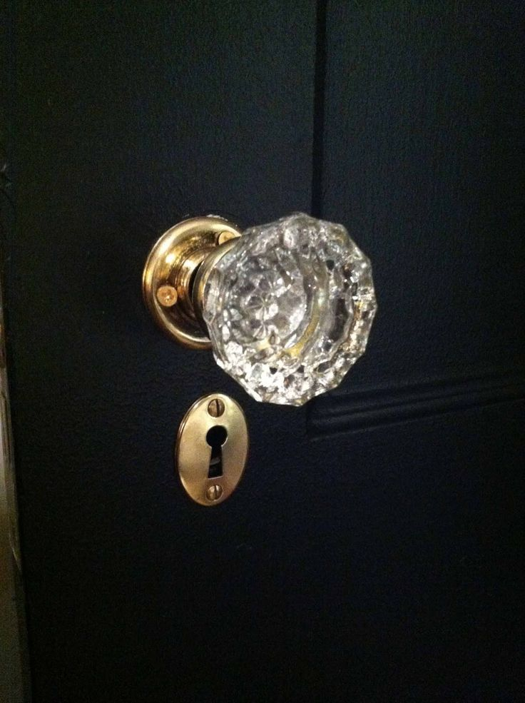 crystal interior door knobs photo - 19