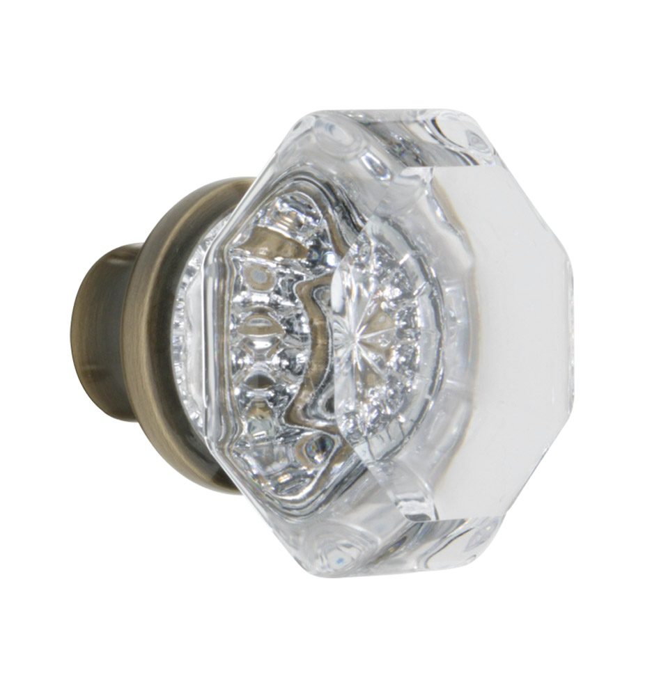 crystal interior door knobs photo - 2