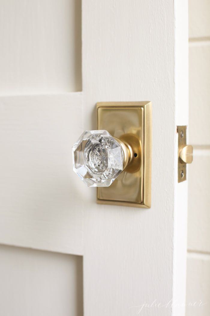 crystal interior door knobs photo - 8
