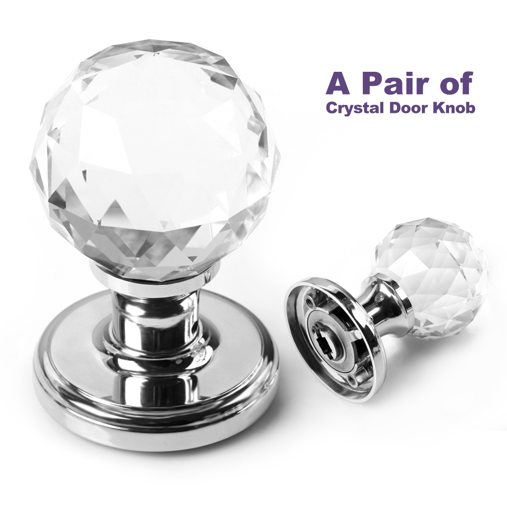crystal knobs for doors photo - 18
