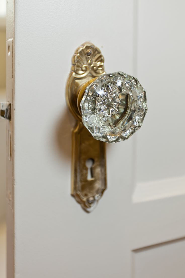 crystal knobs for doors photo - 9
