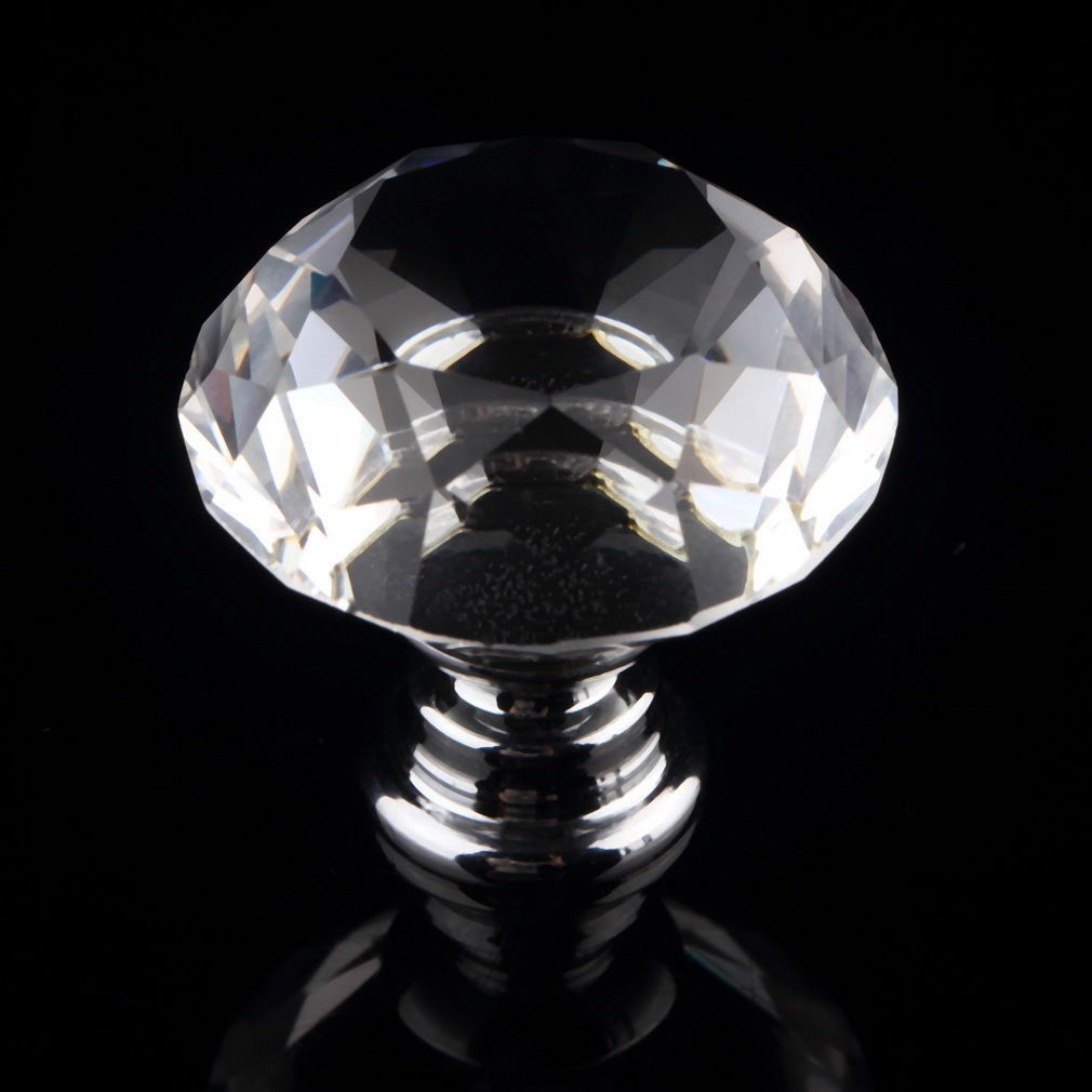 crystal wardrobe door knobs photo - 15