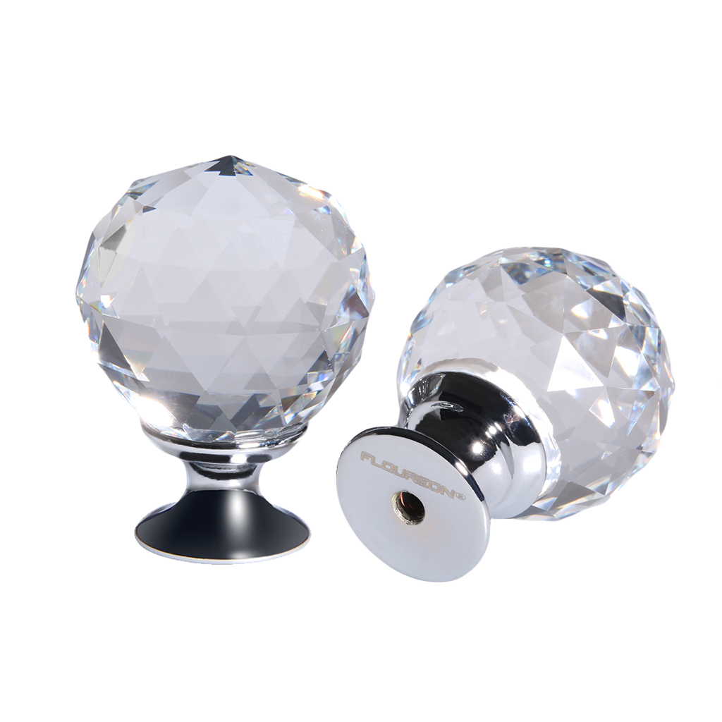 crystal wardrobe door knobs photo - 19