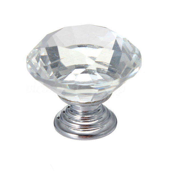 crystal wardrobe door knobs photo - 4