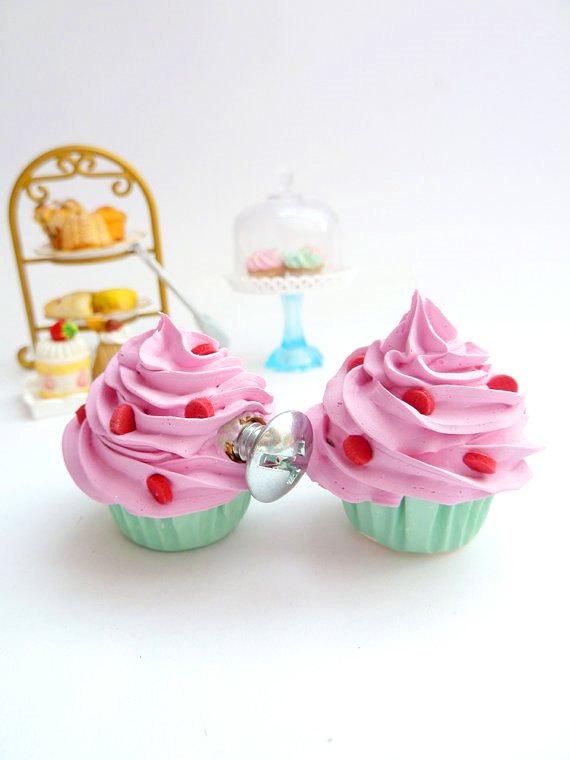 cupcake door knobs photo - 12