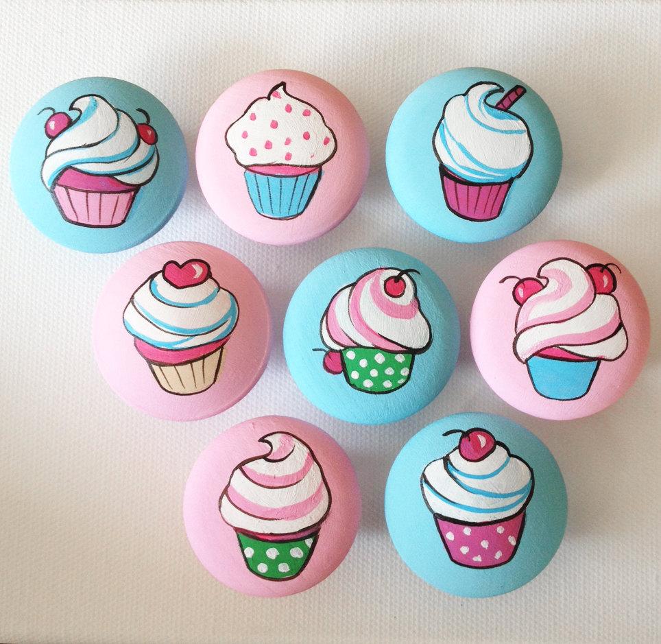 cupcake door knobs photo - 14