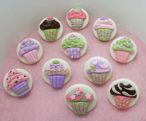cupcake door knobs photo - 6