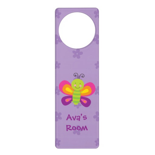 custom door knob hangers photo - 14