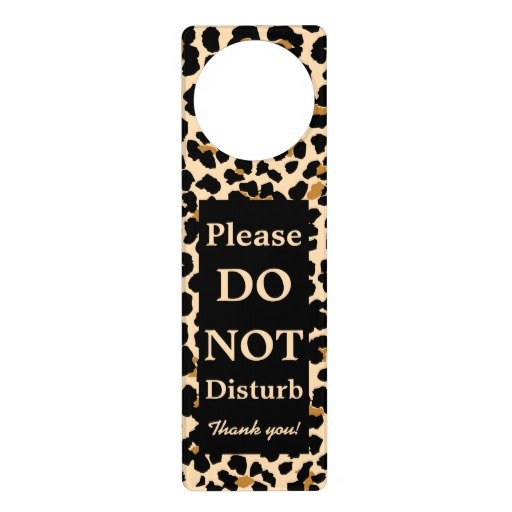 custom door knob hangers photo - 16