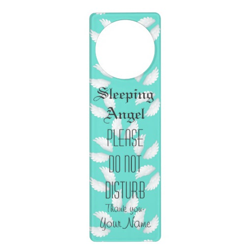custom door knob hangers photo - 17
