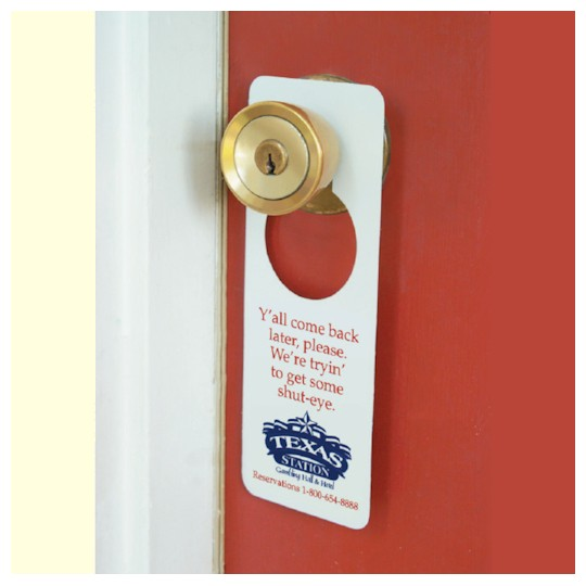 custom door knob hangers photo - 4