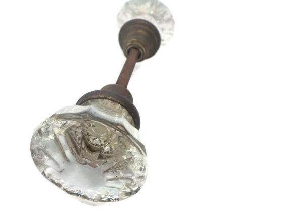 cut glass door knobs photo - 3