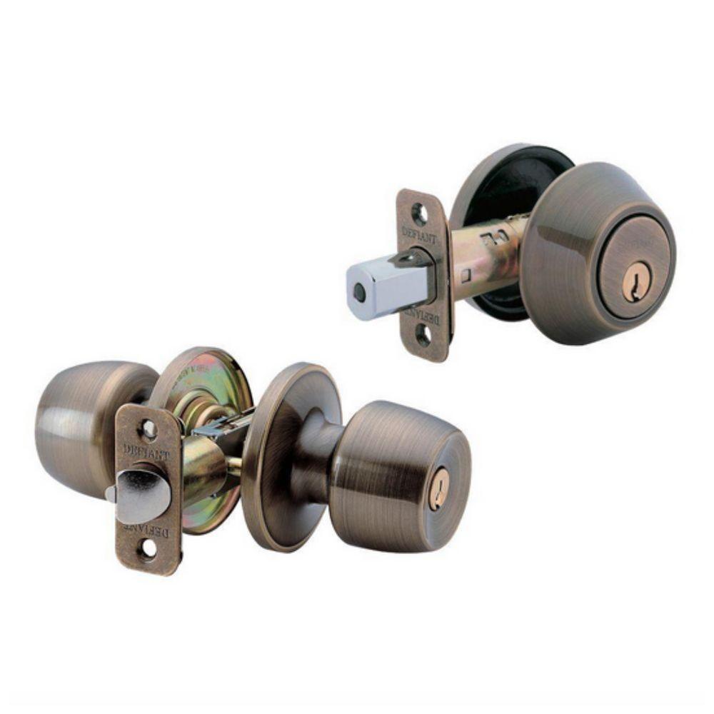 deadbolt and door knob sets photo - 9
