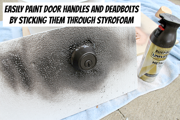 deadbolt door knob all in one photo - 3