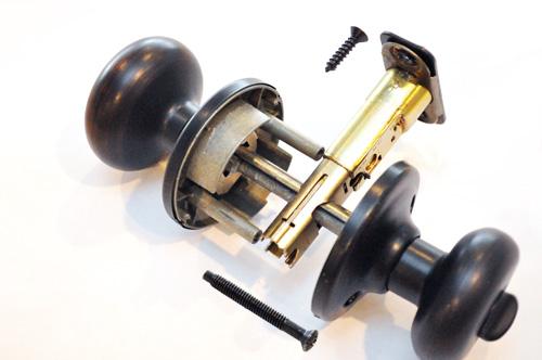 deadbolt door knob all in one photo - 8