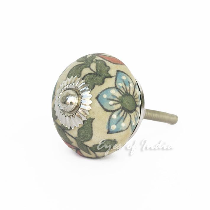 decorative ceramic door knobs photo - 1
