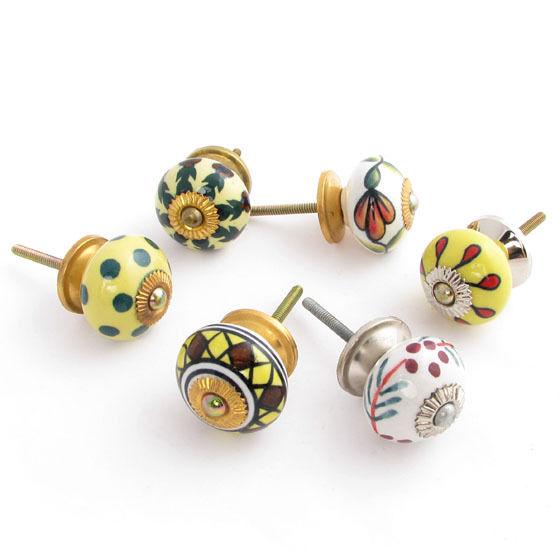 decorative ceramic door knobs photo - 12