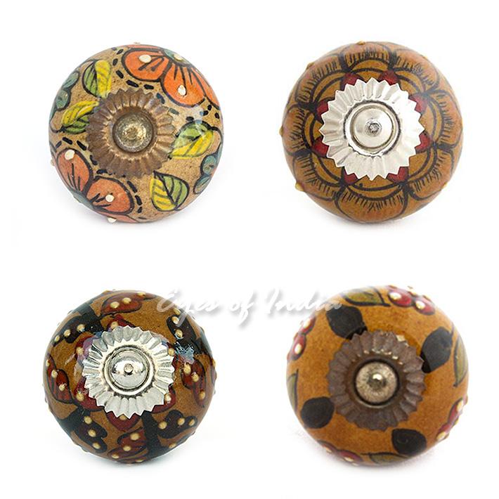 decorative ceramic door knobs photo - 13