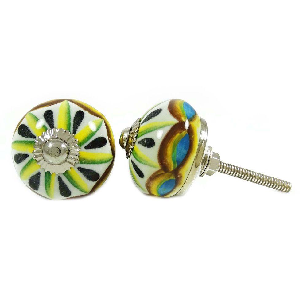decorative ceramic door knobs photo - 5