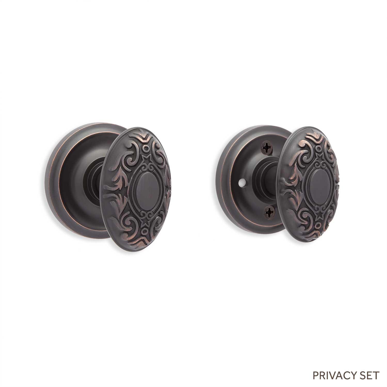 decorative door knob plates photo - 17