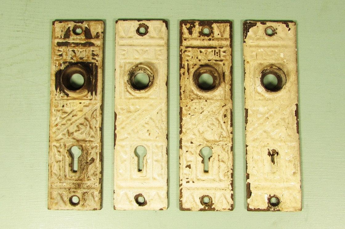 decorative door knob plates photo - 20