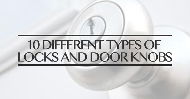 different types of door knobs photo - 12